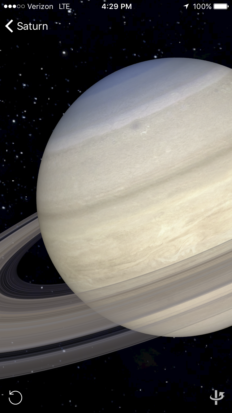 Browse and manipulate scienftifically accurate models of all the planets